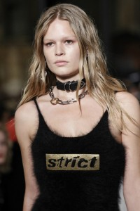 alexander wang, new york, 2016-2017 choker